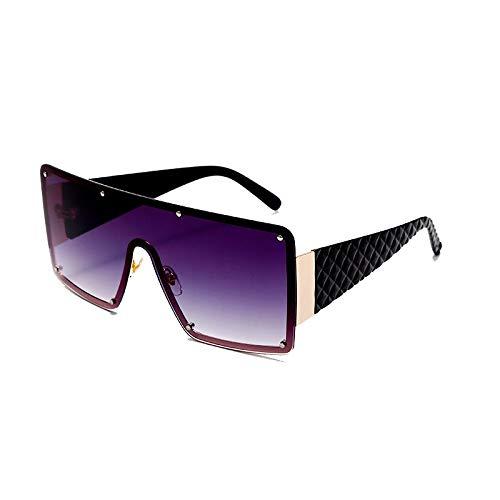PADQ Gafas de Sol Mujer Moda Vintage Gafas HombreOculos UV400 SHOWASPICTURES
