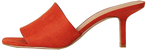 Marchio Amazon - Find. Sandali aperti da donna 90s Mule, Marrone (Marrone (Terracotta).), 38 EU