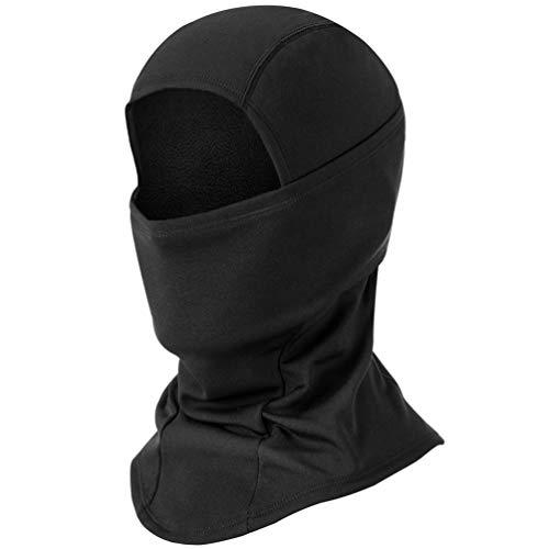 BAONUOR Sturmhaube Gesichtshaube | Balaclava Winter | Skimaske | Motorradmaske Winter Gesichtsmaske,sturmmaske für Damen & Herren,skimaske Fahrrad Maske schwarz