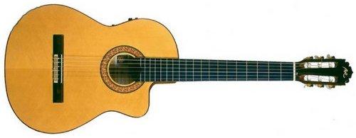 Guitarras Manuel Rodgriguez and Sons S.L. GUITARRA MOD.A CUTWAY E-N - Guitarra electroacústica - Manuel Rodríguez: Guitarra clásica Modelo B Cutaway