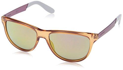 Carrera 5015/S E2 8RA Gafas de sol, Naranja (Orange Pinkish White/Grey Violet Gold Mirror), 54 Unisex-Adulto