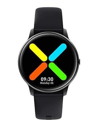 YAMAY Montre Connectée Homme Femme Enfant Smartwatch pour Huawei Samsung Xiaomi iPhone Android Telephone Montre Intelligente Tactile Vibrante Sport Podometre Fitness Tracker Cardio Etanche Chronometre