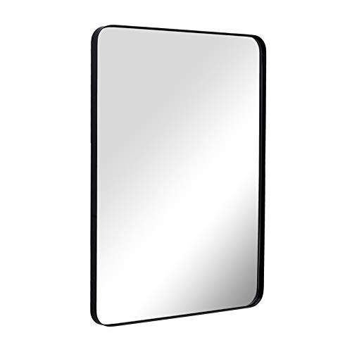 ANDY STAR Wall Mirror for Bathroom, Mirror for Wall with Black Metal -