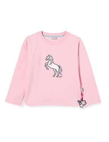Sigikid Mädchen Mini Bio-Baumwolle, Größe 098-128 Sweatshirt, Rosa/Pferd, 104