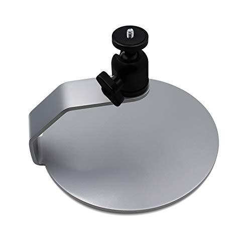 Atriles para proyectores Mini montaje en proyector con cabezas giratorias de 360 grados para proyectores cámaras mini webcam, montaje con balón metálico para cámara Soportes para proyectores