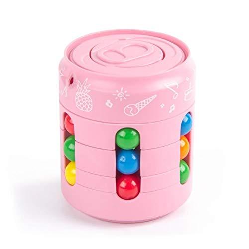 BSTTAI Juguete Giratorio De Frijol Mágico, Juguete Giratorio de Frijol mágico Creativo, Inteligencia para niños, yema del Dedo, Desarrollo del Cubo de Rubik, Juguetes educativos, Juguetes