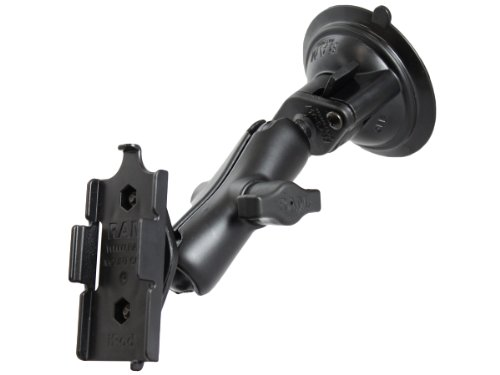 Ram Mount Twist Lock Suction Cup Mount for Apple iPod Nano G1 and G2 (Black)