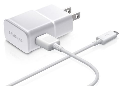 Samsung HM6000 BlueTooth - Cargador de viaje con cable micro USB desmontable (2 A, color blanco)