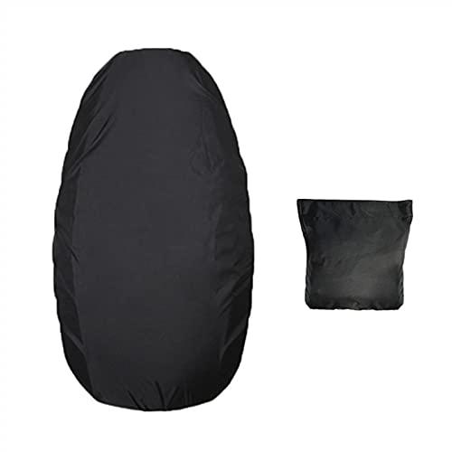 K-Park Funda elástica para el asiento de la motocicleta Protector universal de la cubierta del asiento del cuero de la motocicleta Scooter impermeable de la PU Cubierta del sillín resistente e
