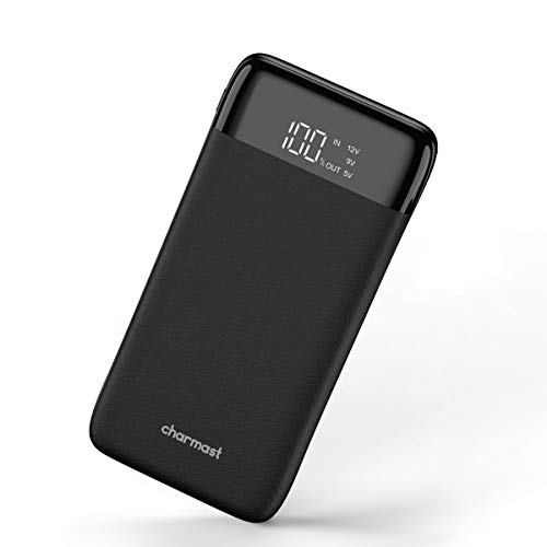 Charmast Powerbank 20800mah LED Digital Bildschirm Externer Akku USB C Power Delivery QC3.0 Quick Charge Micro USB Type C Handy Ladegerät für iPhone X/XS/8/7/6,iPad,New iPad Pro,Huawei,Samsung & Tablet