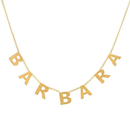 Collar Con Nombre Personalizado  marca Elegantia Jewelry