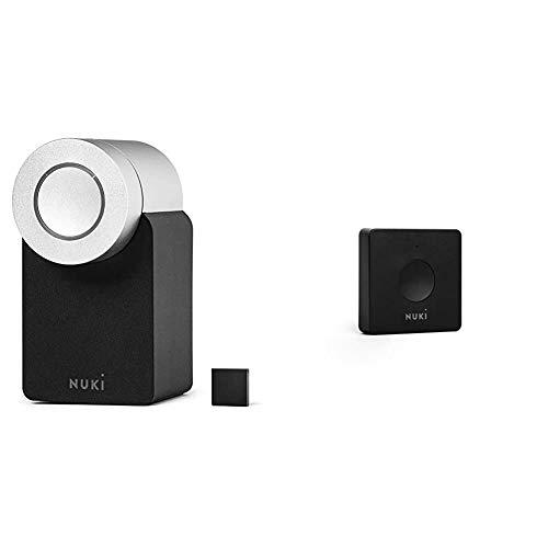 Nuki Smart Lock 2.0   Elektronisches Türschloss   Sperren via Bluetooth   einfach nachrüstbar & Opener   elektronischer Mehrfamilienhäuser   steuert den Türöffner der Gegensprechanlage