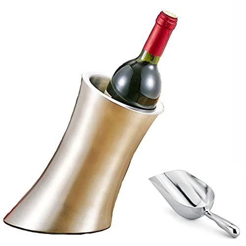 Cubo De Hielo con Pala, Forma De Pie De Animal, Recipiente De Bebida De Vino con Aislamiento De Doble Pared, Herramientas para Barra De Cocina