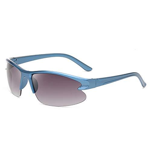 Gafas De Sol Polarizadas para Hombres Gafas De Sol Deportivas Polarizadas Montura Azul Clásica Lente Morada Gafas De Sol Gafas De Ciclismo para Exteriores Deportes Conducción Gafas De Cicl