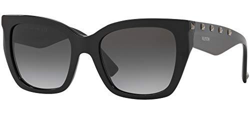 Valentino Occhiali da Sole Rock Stud VA 4048 Black/Grey Shaded Donna