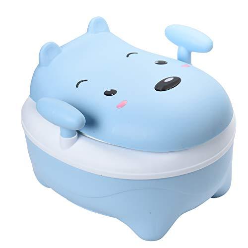 Glenmore Vasino Bambini Vasetto WC Bambina Vater Bimbi Mucca Morbido Imbottito Blu gli Bestiame