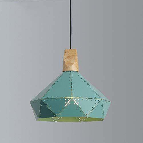 Lyuez Cafe kroonluchter wijnoogst-decoratieve eetkamer lamp holle hout smeedijzer draak licht wit licht monochroom studie leeslamp