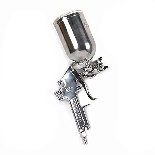 Boquilla de 2 mm HVLP Pistola de alimentación de la gota de alimentación de la gravedad de aire 400 cc para automoción, industrial y madera // 28 (tamaño: 3,0 mm Nozzle)