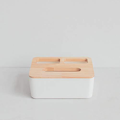 Skulptur einfache bambus holz tissue box wohnzimmer couchtisch multifunktionale kreative papier lagerung haushalt rollenpapier rohr-XXXL