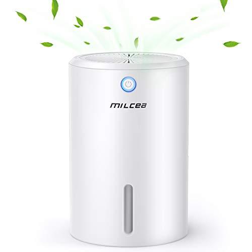 MILcea Luftentfeuchter 900ml 22.5W Elektrisch Entfeuchter Mini Luftentfeuchter Leise Luftentfeuchter für Hause Schlafzimmer Kellerräume Schrank Wohnwagen Büro Entfeuchter