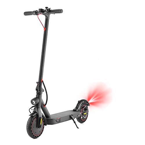 ANYHOW Scooter eléctrico, Scooter eléctrico para adultos con amortiguador, peso ligero, plegable, 350 W, scooter motorizado velocidad máxima 25 km/h