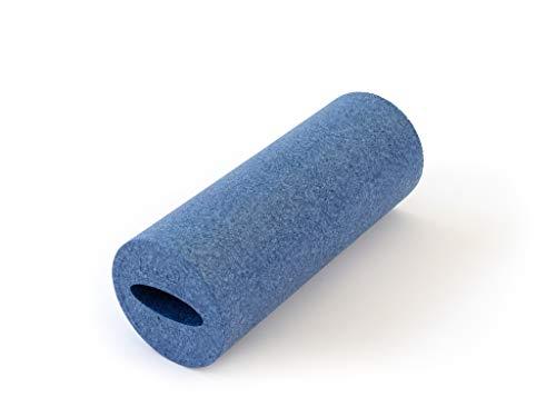 SISSEL Myofascia Roller, Faszienroller mit Griffmulde 40 cm - blau