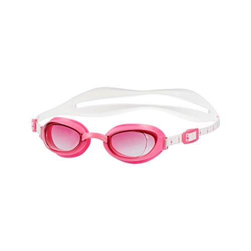 Speedo dames aquapure goggles, wit/roze, één maat