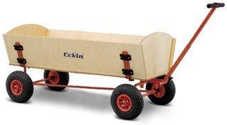Bollerwagen-ECKLATRAK-XXL-FUN,Hinterachselenk. und pannensichere Bereifung