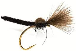Direct sale of manufacturer Fulling Mill Palamino Black Dry CDC Sz16 Austin Mall Fly