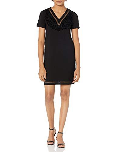 Desigual Vest_Lisa Vestido Casual, Negro, M para Mujer