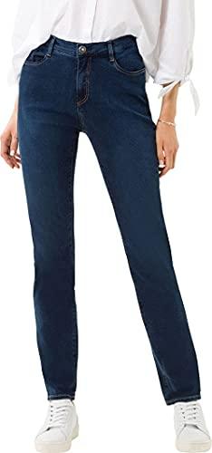 BRAX Damen Style Carola Planet Nachhaltige Jeans, Slightly Used Regular Blue, 38