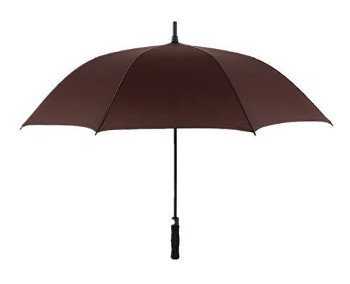 Paraplu automatisch te openen, waterdicht, voordelige kleur, zachte grip, B Koffie