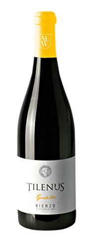 Botella Vino Blanco Tilenus Godello Denominación de Origen Bierzo 2018