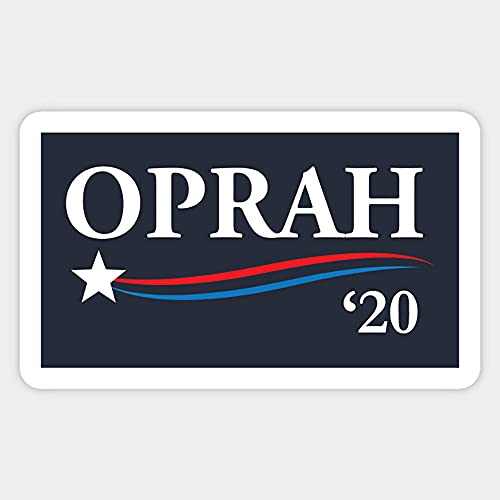 Oprah 2020 for President Stickers, Vinyl Sticker,Funny Sticker, Gift Sticker