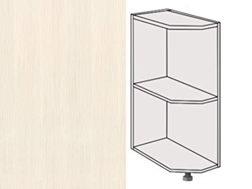 Premium-Ambiente AKERL0088 Unterschrank Abschlußregal 25cm breit FE (Links, 18 Woodline Creme)