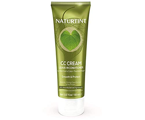 Naturtint CC Cream Leave-In Conditioner for Color-Treated, Dry, or Normal Hair Formulated to Nourish, Smooth, and Soften Hair while Providing Long-Lasting Color Protection
