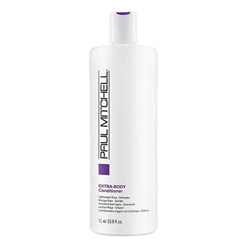 Paul Mitchell Extra-Body Conditioner - vegane Creme-Spülung ideal für feines Haar, Pflege-Conditioner verleiht Fülle, Glanz und Sprungkraft, 1000 ml