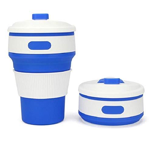 LUXONE Taza de café Taza de Silicona Plegable de Viaje Taza de Agua Plegable Taza para Beber Taza de té Taza de café