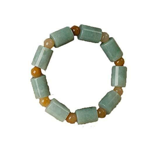 Collar de Moda para Mujer Pulsera de Jade Natural de Jade Natural de los Hombres Pulsera Brazalete Pulsera de los Hombres Izar