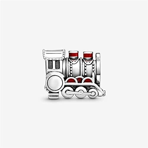 Pandora 925 colgante de joyería de plata esterlina Puro prata esterlina expresso trem charme grânulos caber pulseira prata s jóias fazendo presente