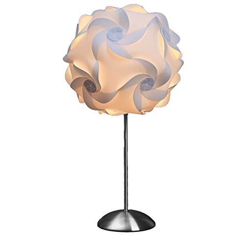 Lampe de Table Lampe de Bureau - décoration en Acier Inoxydable Salon Chambre Chambre lit tête Lecture lumière luminaire [Classe énergétique A ++]