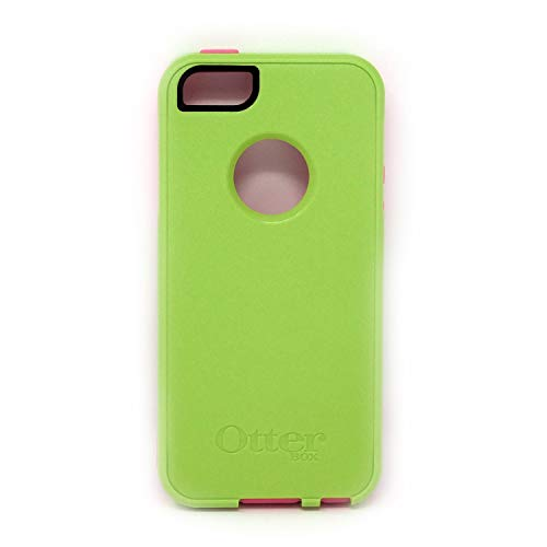 OtterBox Commuter Series Case for iPhone SE (2016 Version ONLY), iPhone 5S, iPhone 5 - Bulk Packaging - Bright Green/Pink