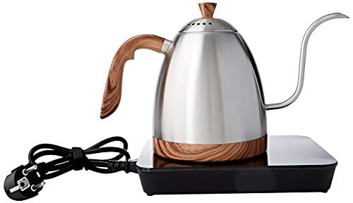 Brewista BAVTK2SEU Elektrischer Wasserkocher, Silber und Holz