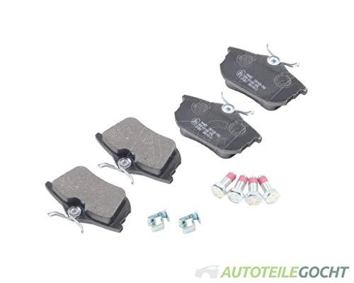 Set Icer Bremsbeläge Scheibenbremse System Lucas Girling Hinten für MITSUBISHI CARISMA DA 95-12 von Autoteile Gocht