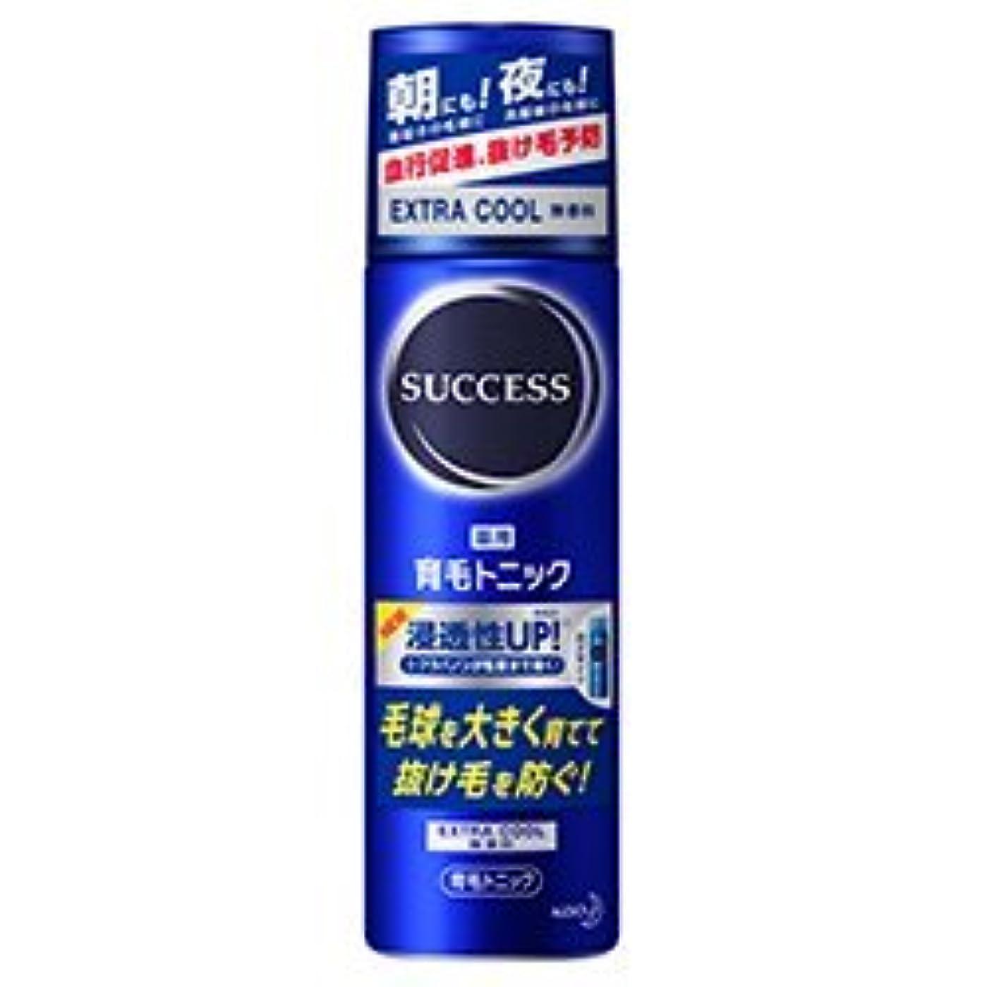 洗練されたプレフィックスそのような【花王】サクセス 薬用育毛トニック エクストラクール 無香料 180g ×20個セット
