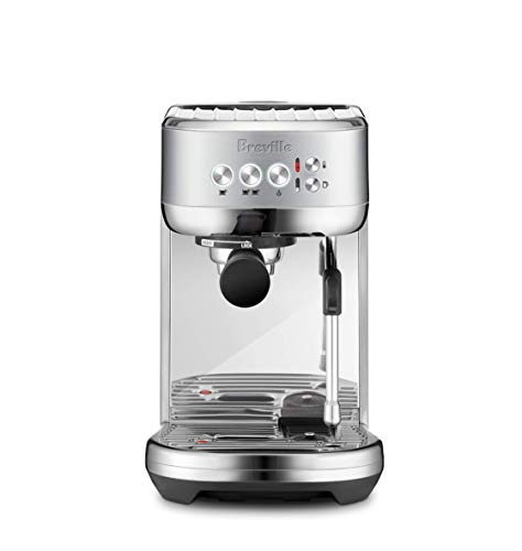 Breville BES500BSS Bambino Plus Espresso Machine, Brushed Stainless Steel (Renewed)