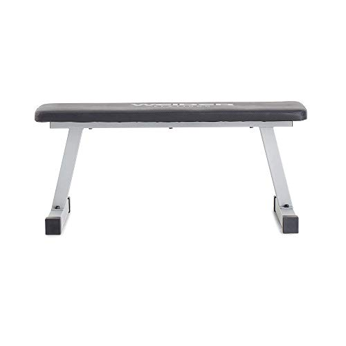 Weider Platinum Flat Bench, Black