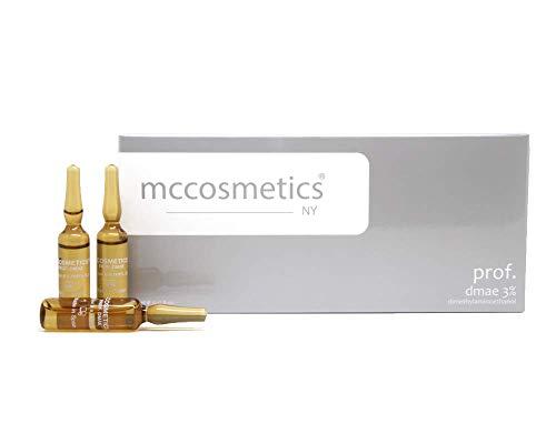 prof. dmae Serum - (steril) für Microneedling (Derma Pen) und Mesotherapie (Dermaroller) Behandlungen bei schlaffer Haut im Gesicht o. am Körper - Professionelles Microneedling Serum. Ampulle 10 x 5ml