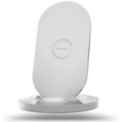 Nokia DT-910 - Cargador plano para Nokia Lumia 925/920/820/720, color blanco
