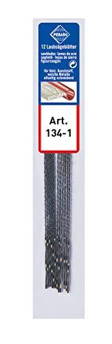 Pebaro 134-1 - 12 Spirallaubsägeblätter für Holz und Kunststoff